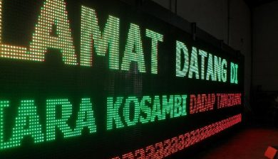 jual led running text di bsd serpong