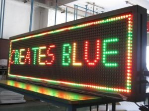jual led running text di menteng