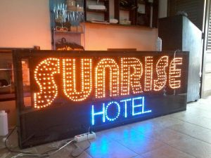 jual led running text di tambora