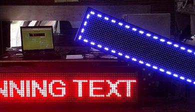 jual led running text di tangerang