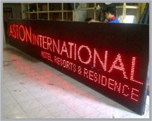 jual led running text di jatinegara